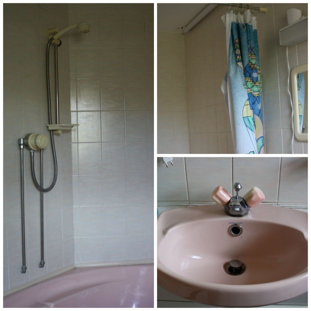 PicMonkey ensuite2Collage, Bathroom, Shower, Ensuite bathroom, 1980s