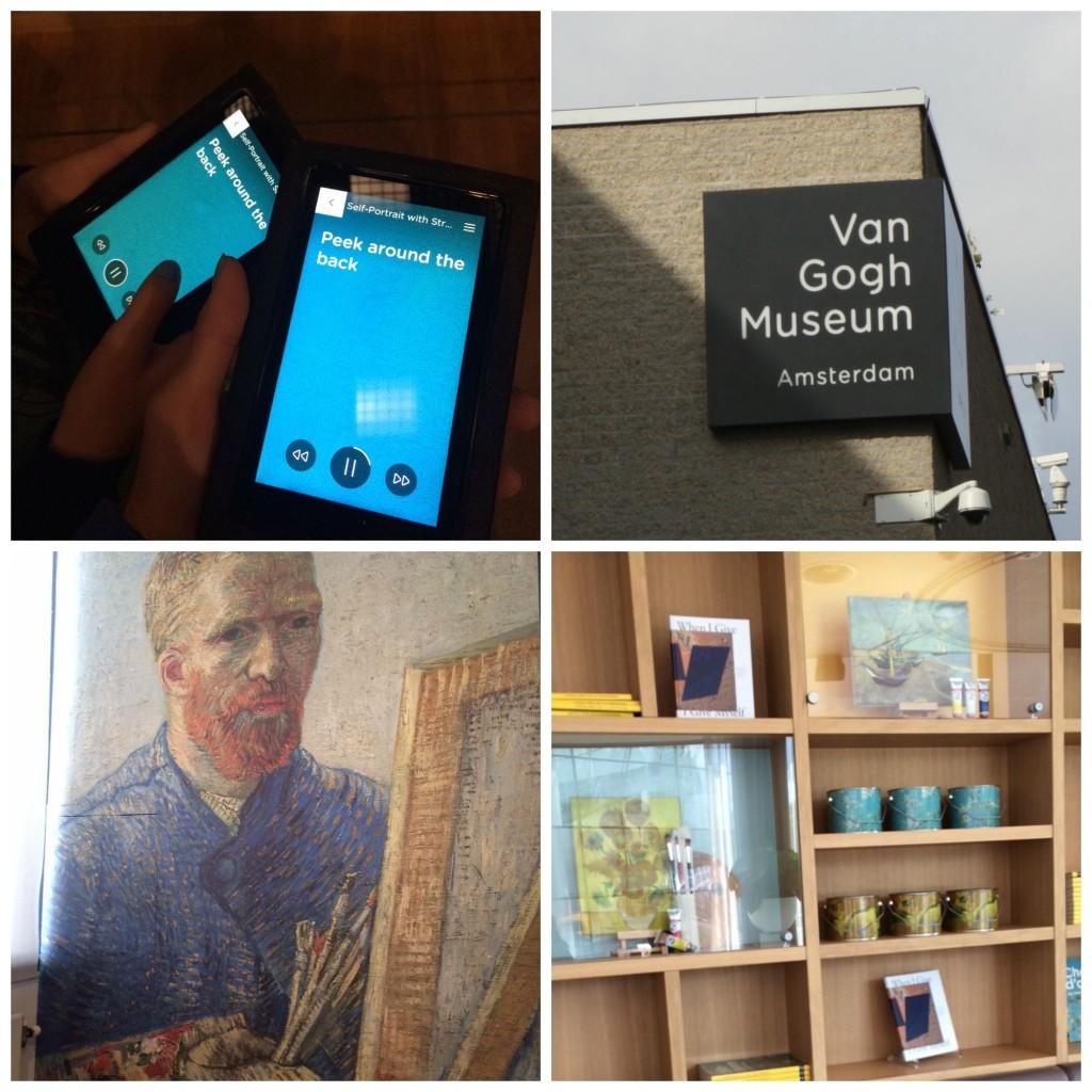 PicMonkey vangoghmuseumCollage, Van Gogh, Van Gogh Museum, Amsterdam