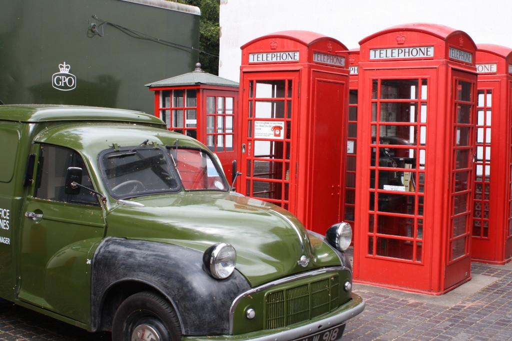 Phone boxes, Avoncroft Museum, Bromsgrove