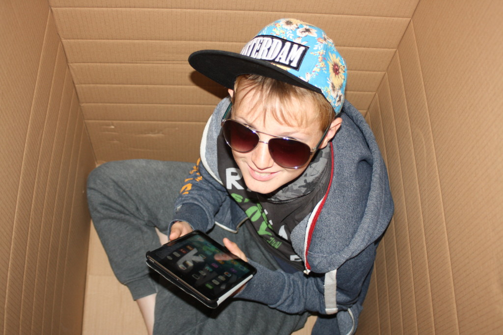 Son, Box, Sunglasses, 365