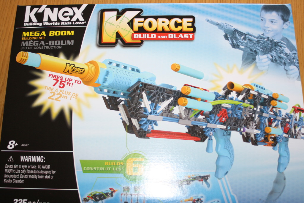 K'NEX, K'NEX K-Force Mega Boom, Review