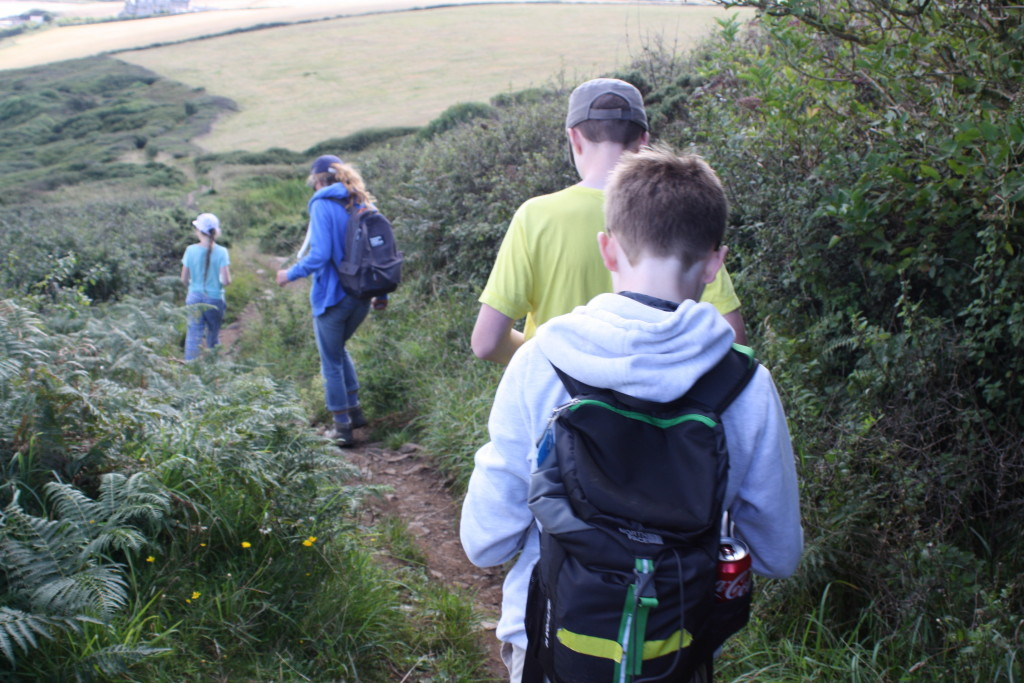 Hiking, Walking, Family, Coast Path, Cornwall