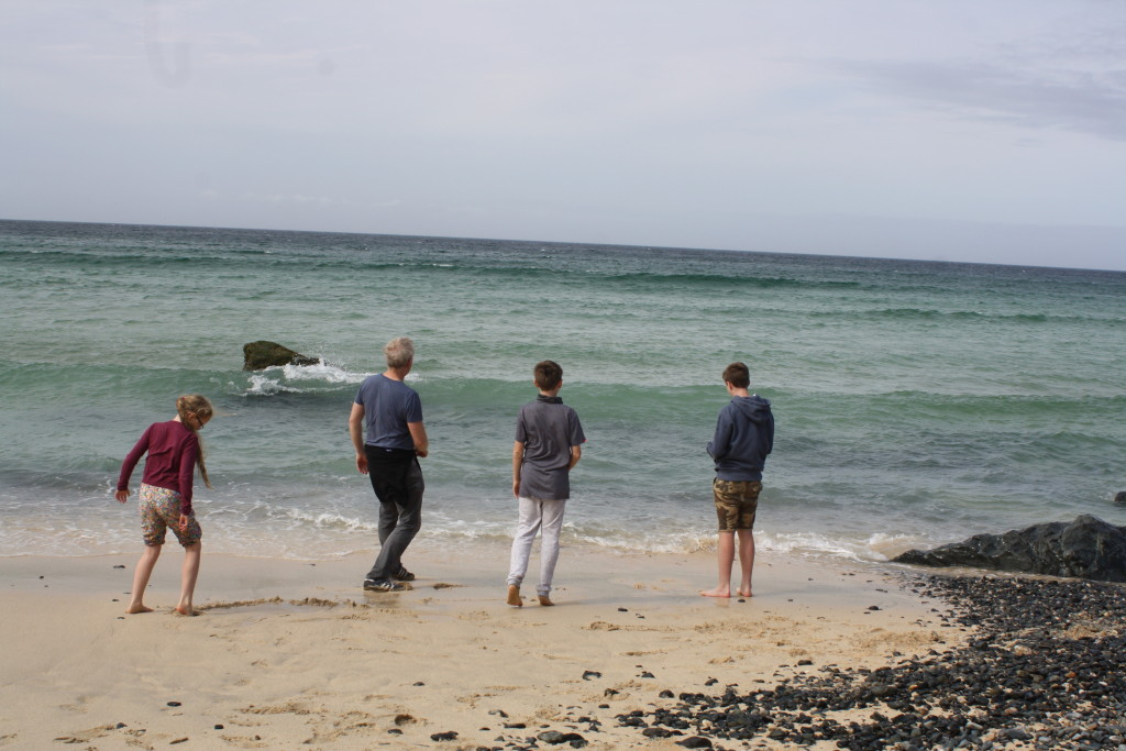 St Ives, Sea, Cornwall, Beach, Husband, Sons, Daughter, 365