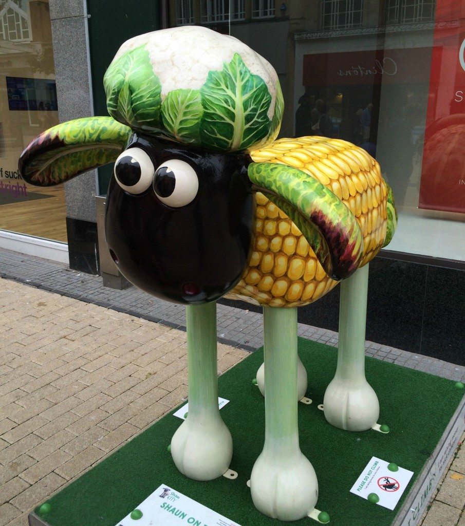 Shaun in the City, Shaun the Sheep, Bristol