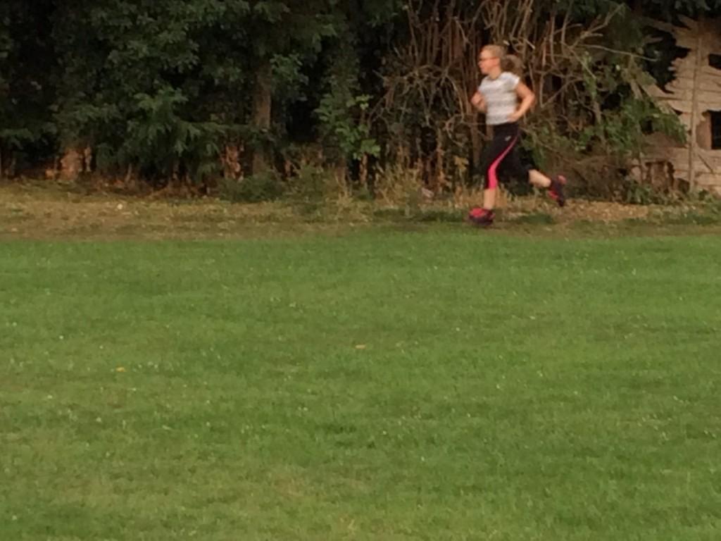 Running, Daughter, Runner