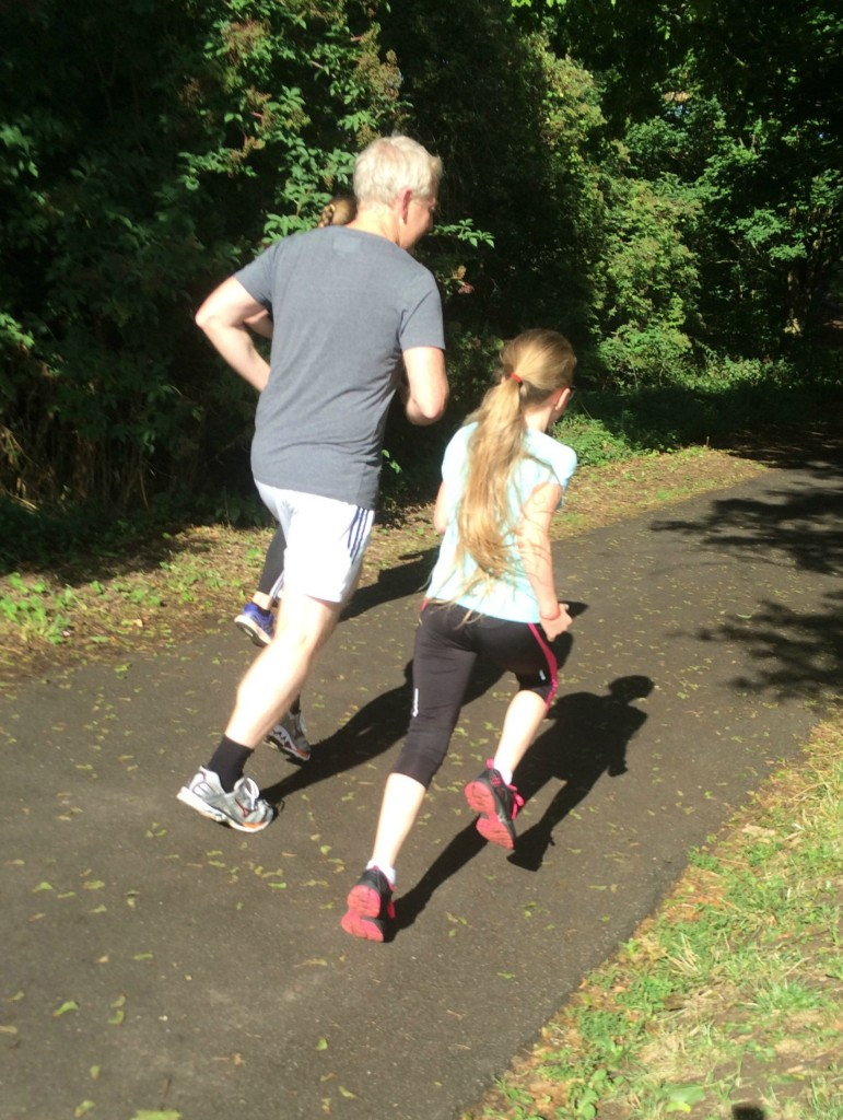 Parkrun, Daughter, Husband