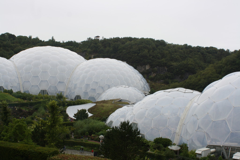 Eden Project, Cornwall, Holiday