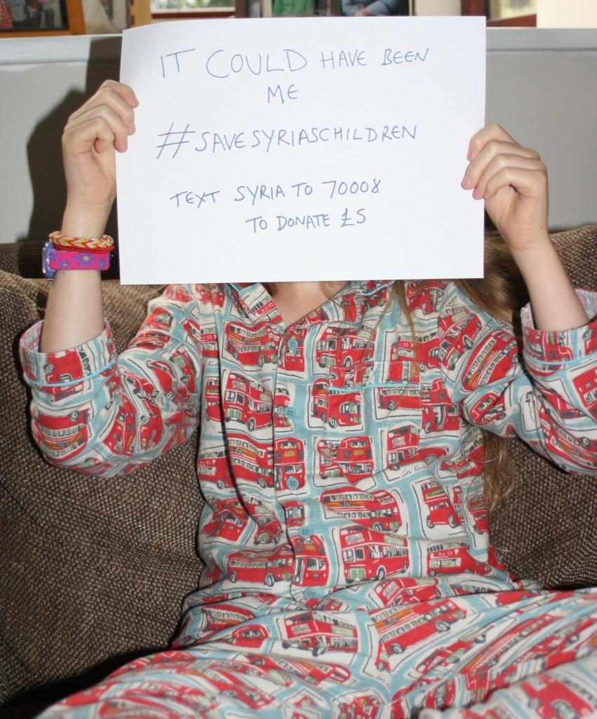 Save Syrias Children, Daughter, Refugees