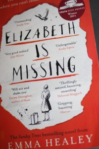 Elizabeth is Missing, Book review, Emma Healey