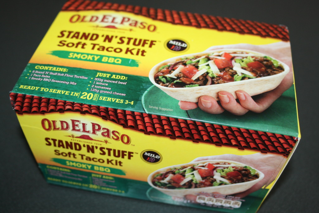 Old El Paso, Tacos, Stand 'n' Stuff, Review