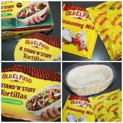 Old El Paso Stand 'n' Stuff – easy midweek meal