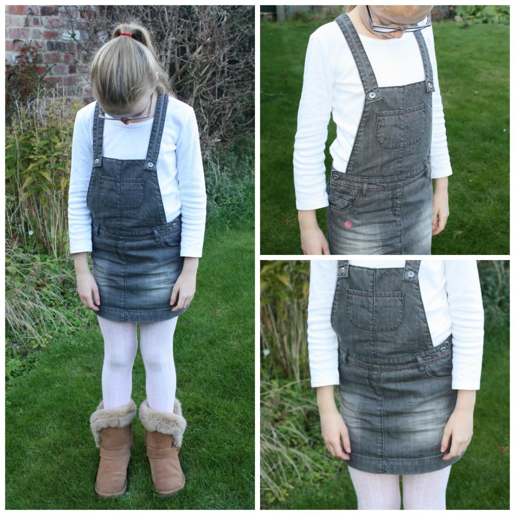 PicMonkey vertbaudet1Collage, Daughter, Dress, Vertbaudet, Fashion, What she wore