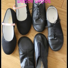 Dance shoes from Dance Depot