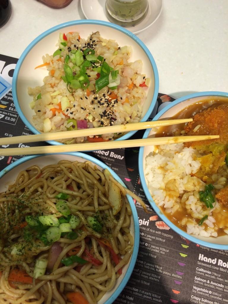 Yo Sushi, Lunch, son, 365