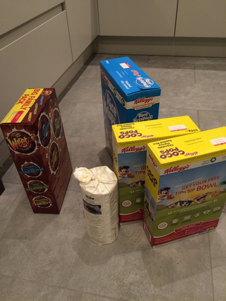 Tesco delivery, Cereals, Shopping, 365