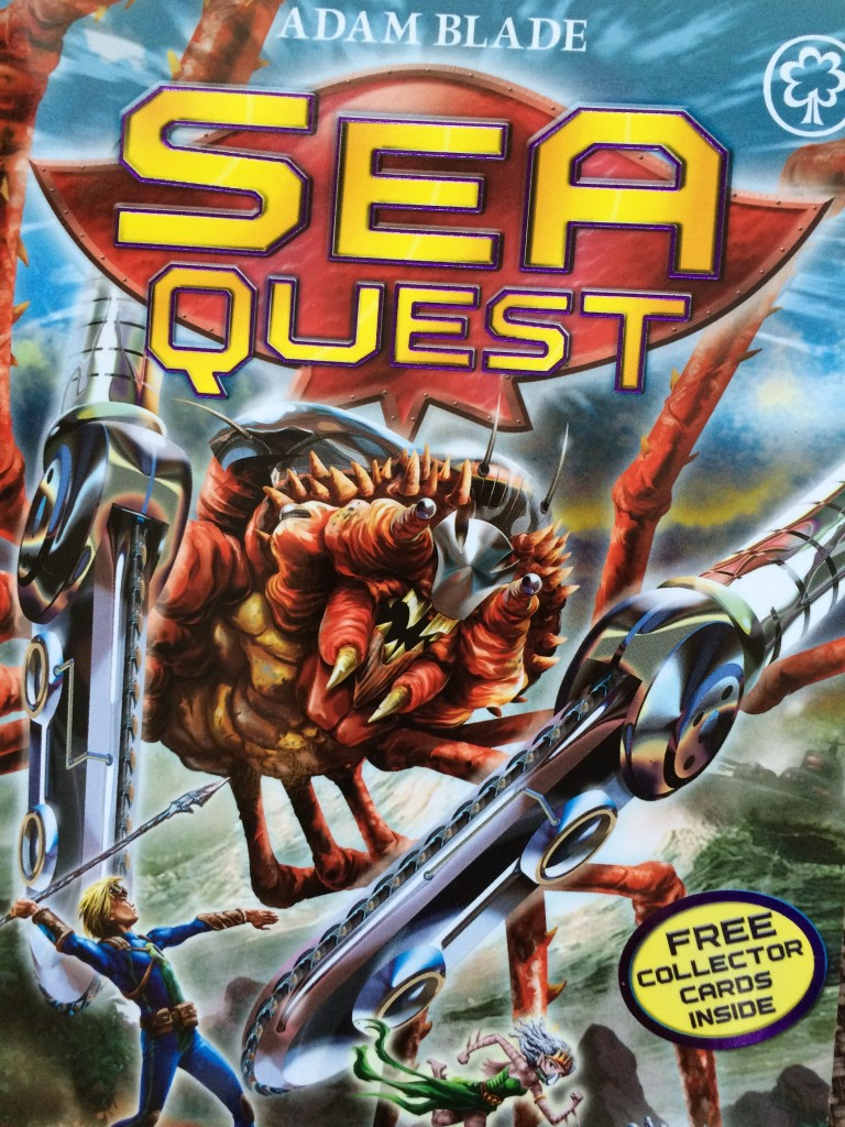 Sea Quest, Books, 365
