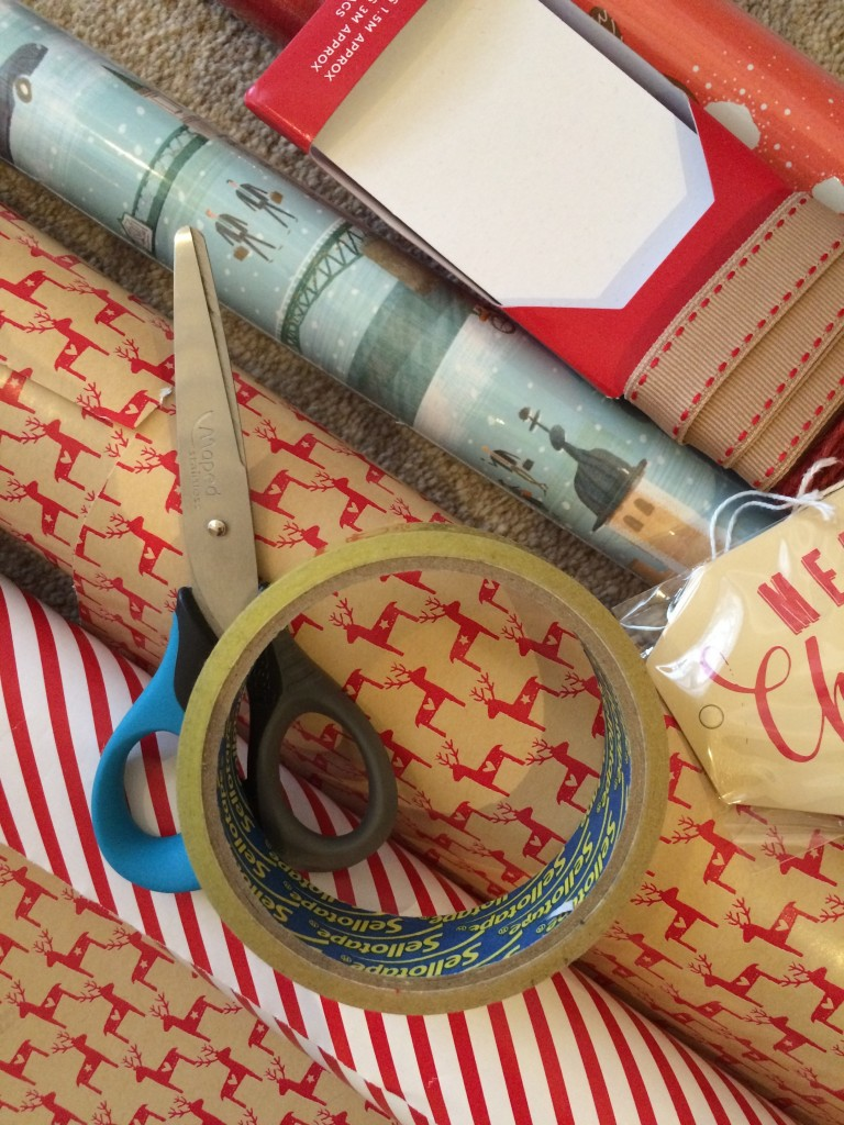 Wrapping paper, Christmas, 365