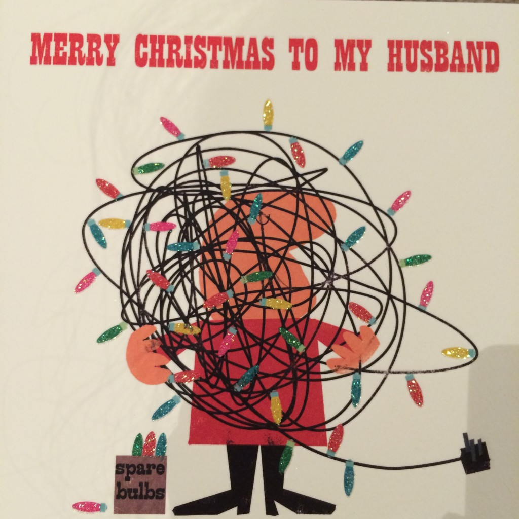 Christmas card, Husband, 365