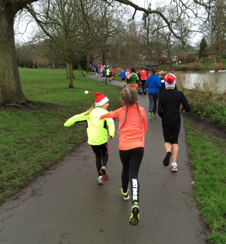 Running, Parkrun, Christmas