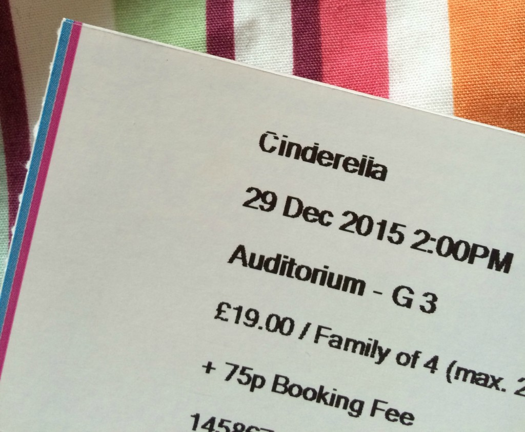 Ticket, Cinderella, Panto, Family