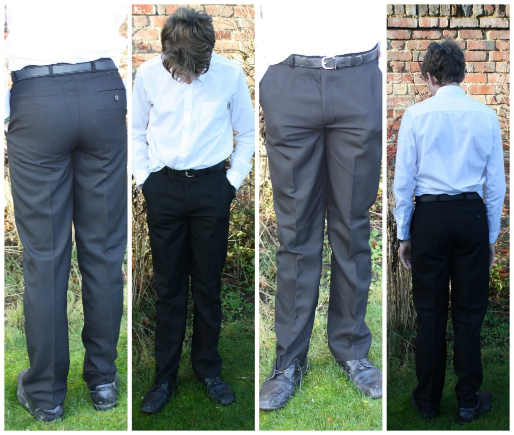 School uniform, School trousers, Son, Trutex, Review