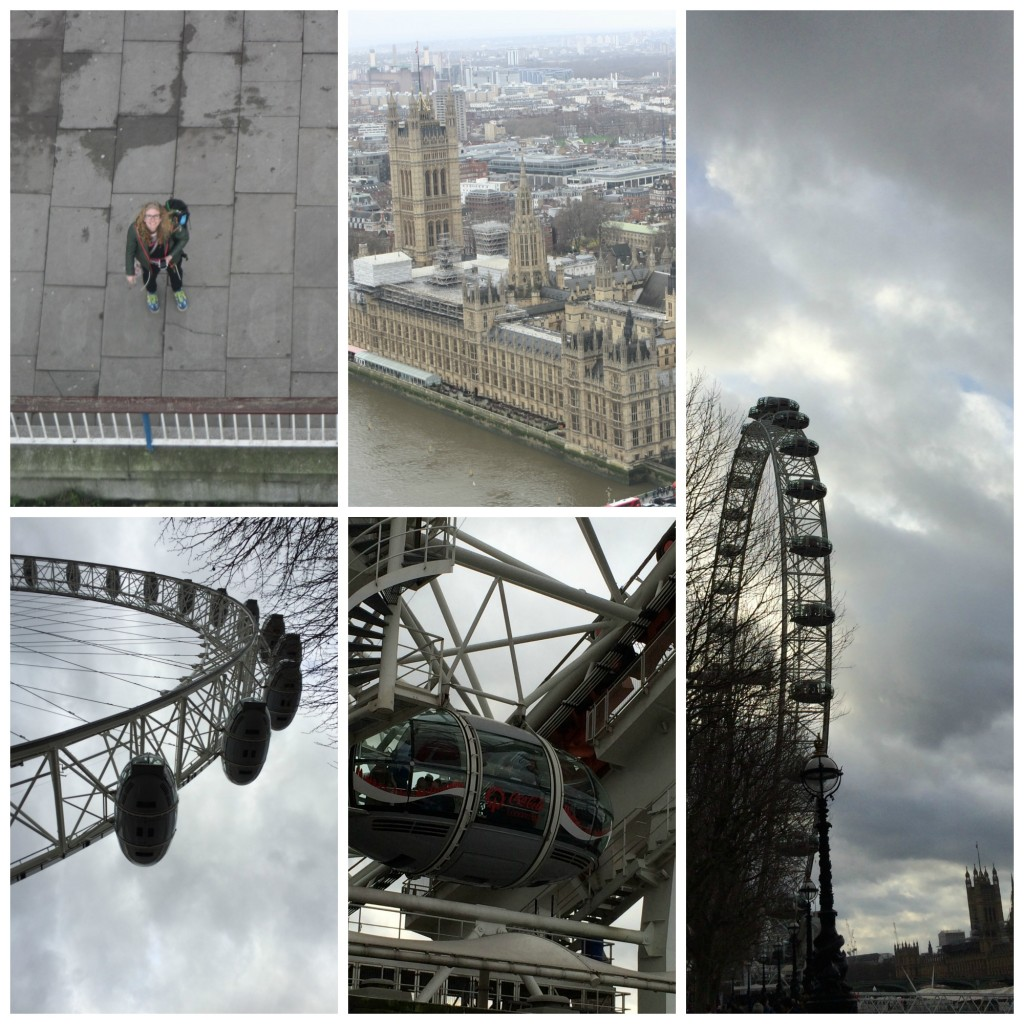 PicMonkey londoneyeCollage, London Eye, London, Boxing Day