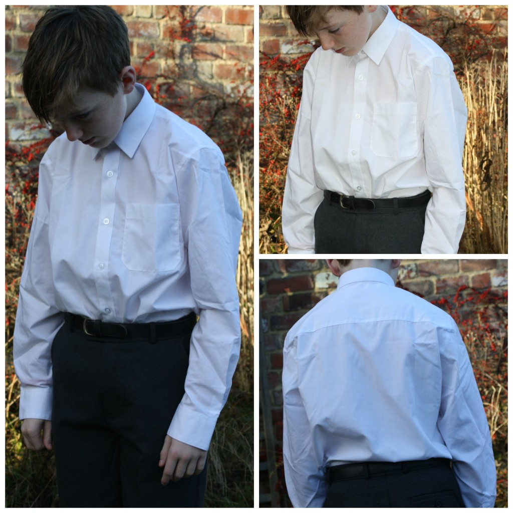 School shirts, School uniform, Trutex, Review, Son