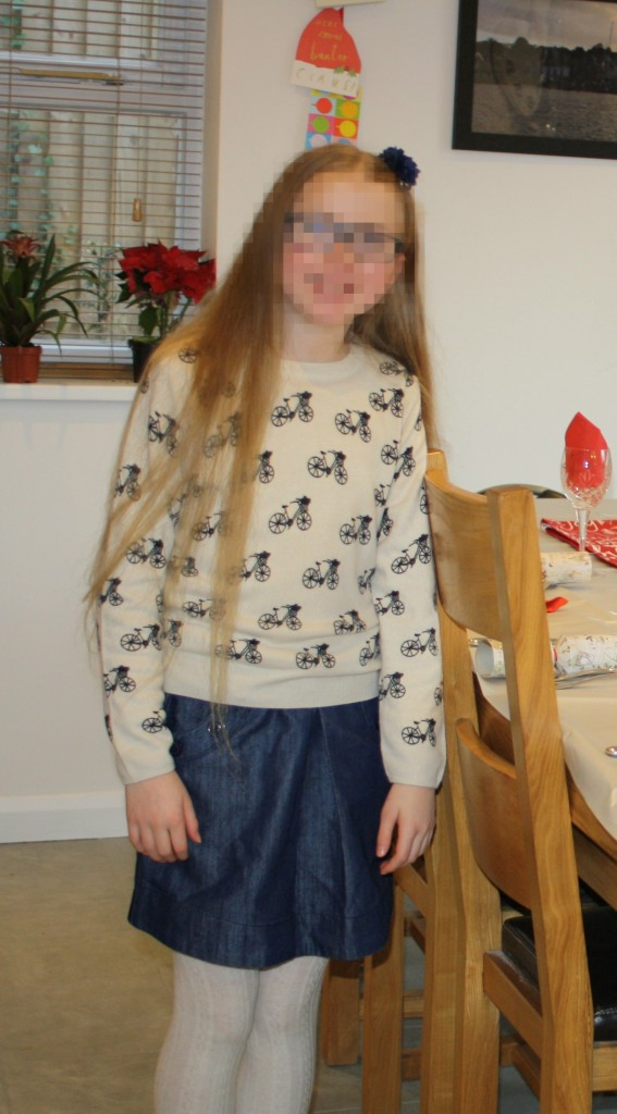 Daughter, Fashion, What she wore, Christmas