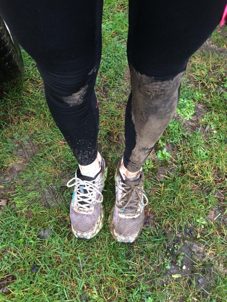 Muddy legs, Parkrun, Running