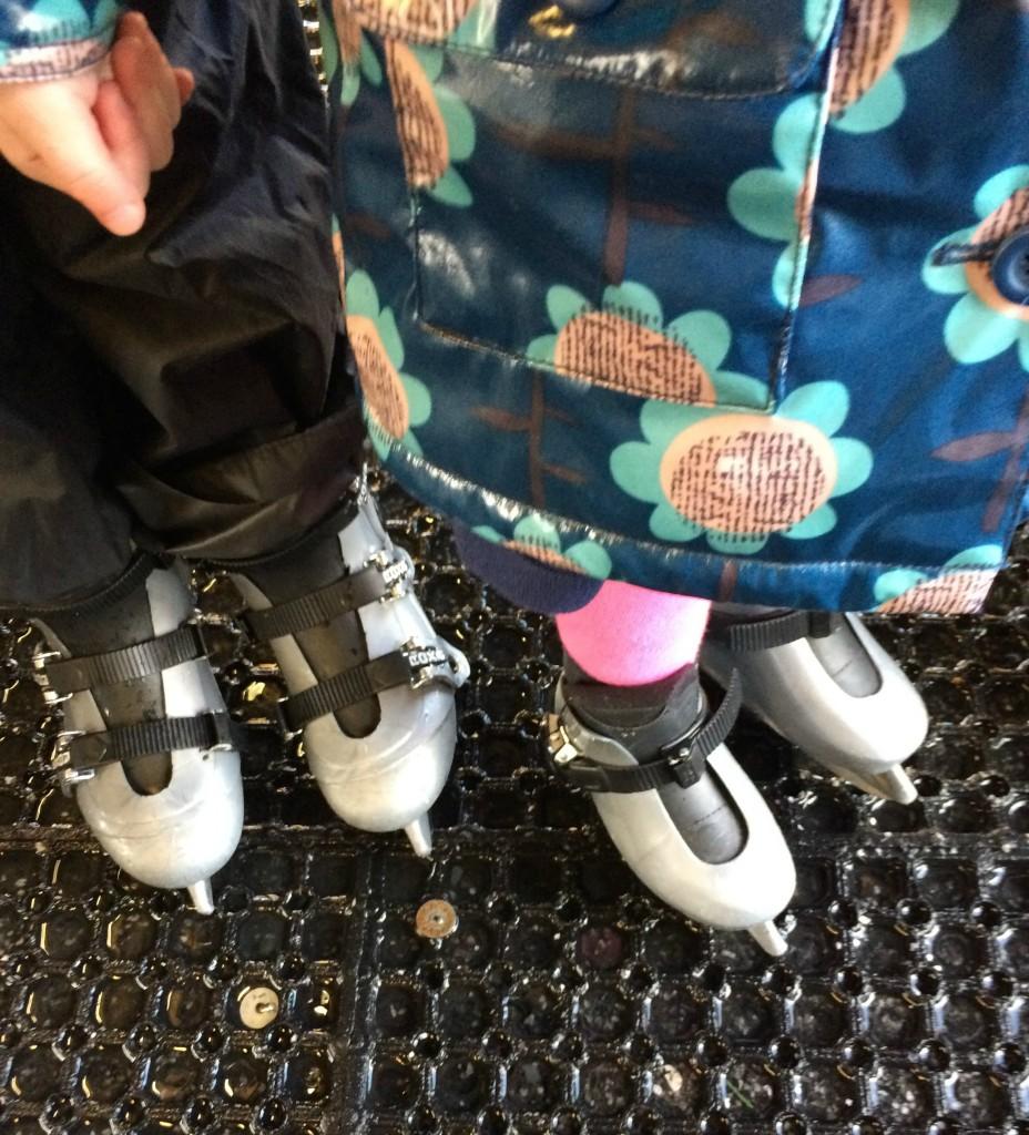 Daughter, Niece, Ice skating, 365, 366
