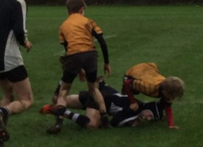 First school rugby match