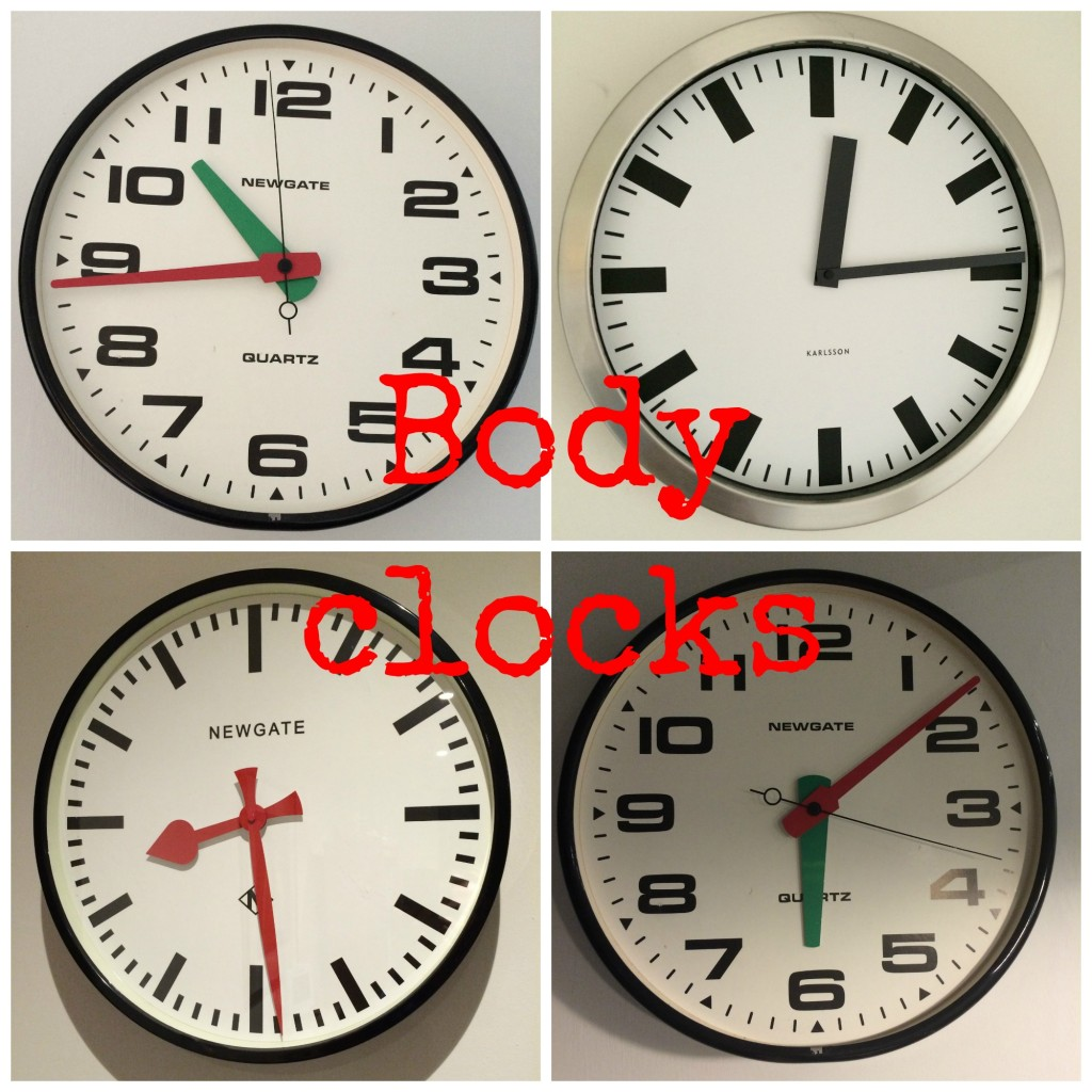 Body clocks, Sleep, Family