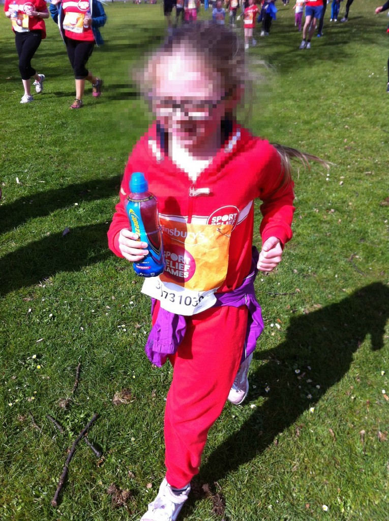 Sport Relief, Daughter, Charity