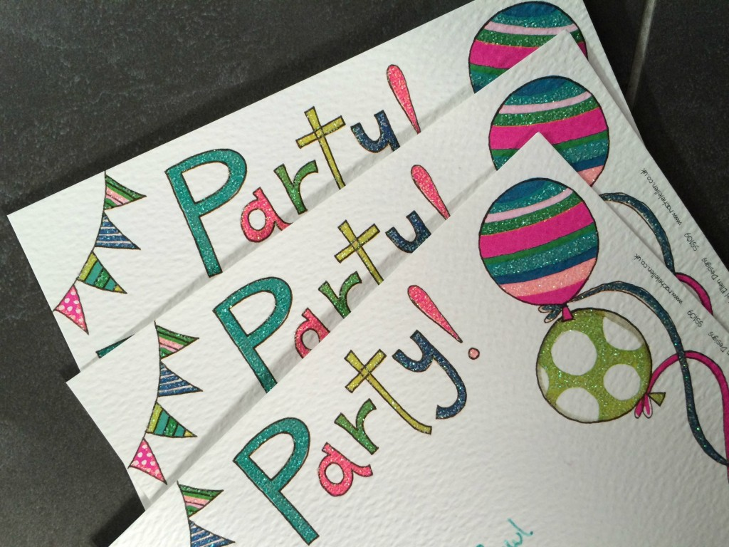 Party, Birthday, Invitations, Daughter