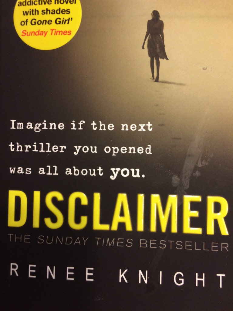 Disclaimer, Renee Knight, Book review, Disclaimer by Renee Knight