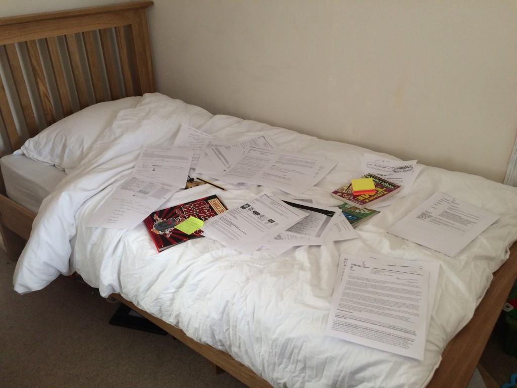 Bed, Work, 365, 366, Freelance