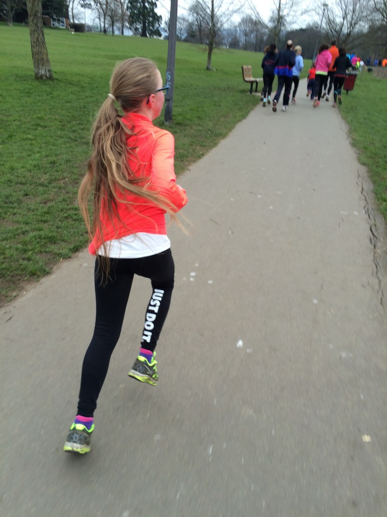 Running, Parkrun, Daughter