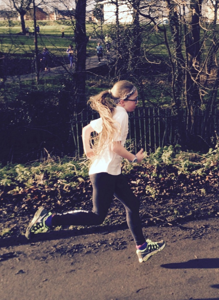 Daughter, Running, Parkrun, Birthday, 10th birthday