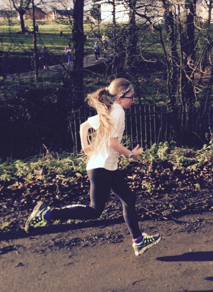 Daughter, Running, Parkrun, Birthday, 10th birthday