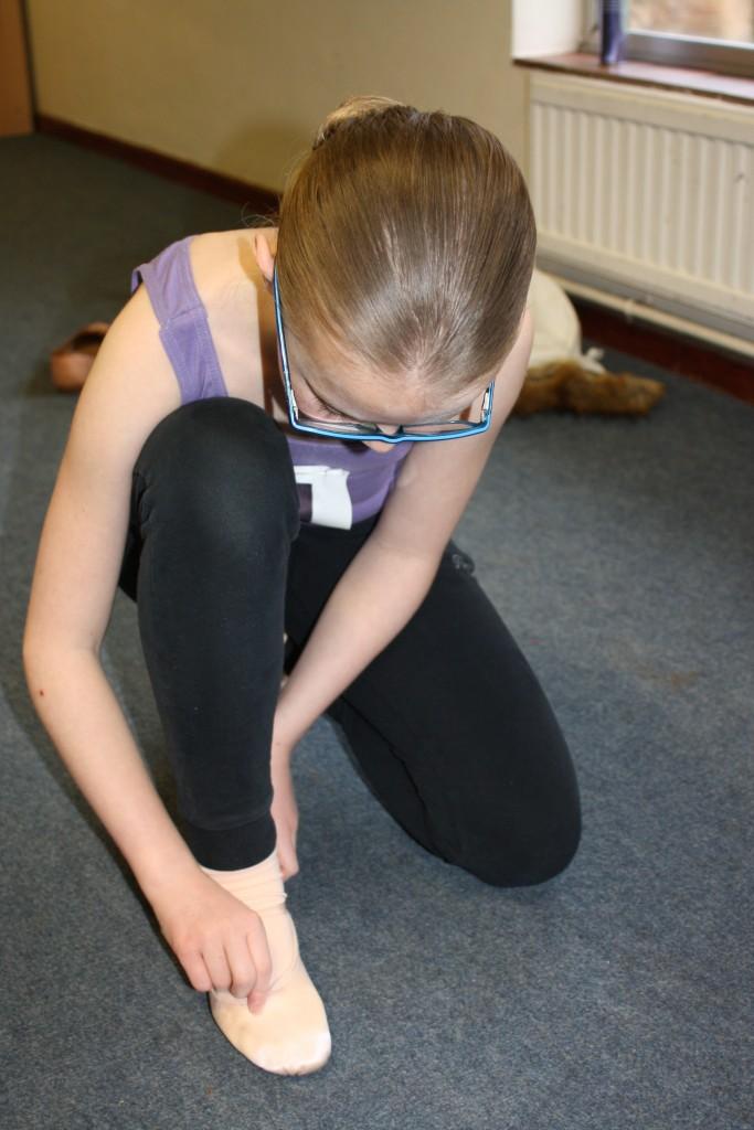 Silent Sunday, My Sunday Photo, Daughter, Ballet, Ballet exam