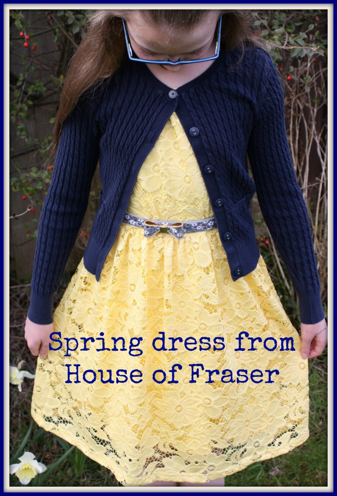 Daughter, Dress, House of Fraser, Fashion, Review