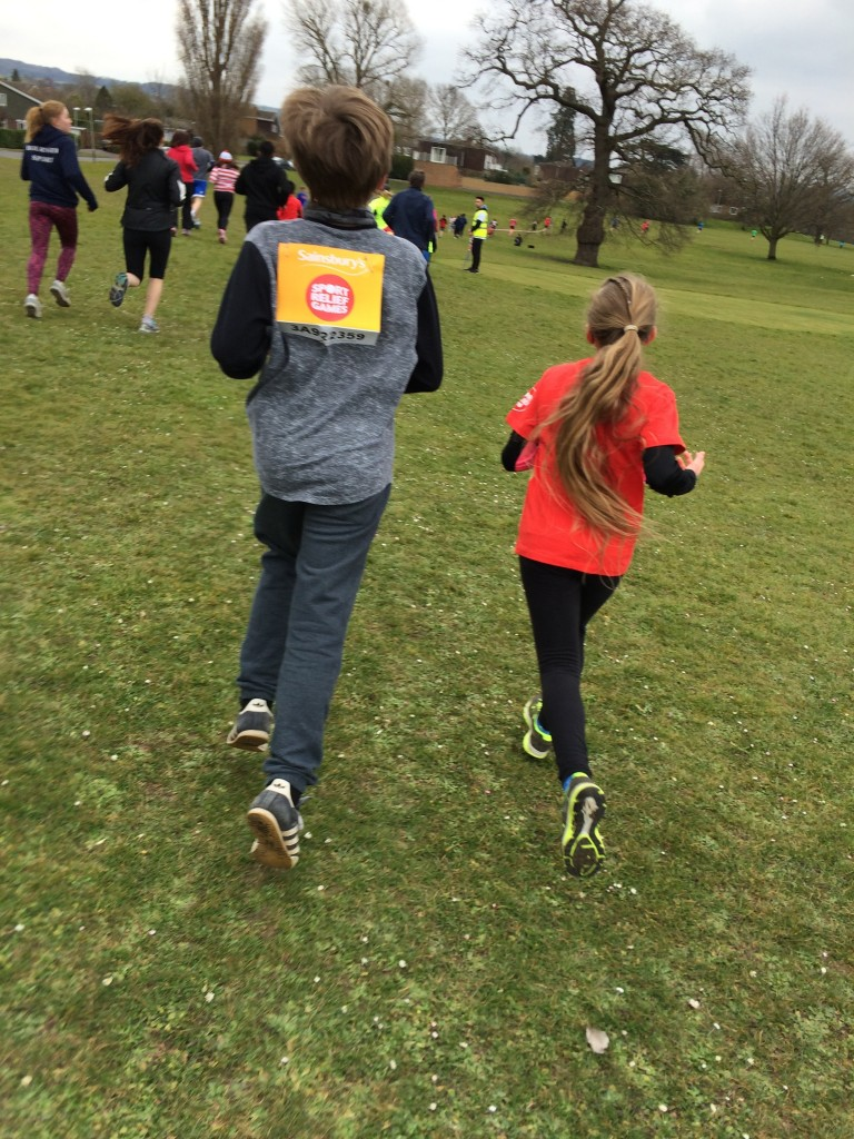 Son, Daughter, Sport Relief, Running, Charity