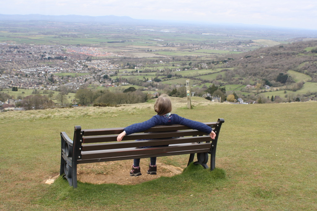 Silent Sunday, My Sunday Photo, Daughter, Hill, Landscape, View