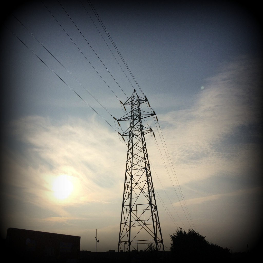 Pylon, Sky, Skyline, Walking, 365, 366