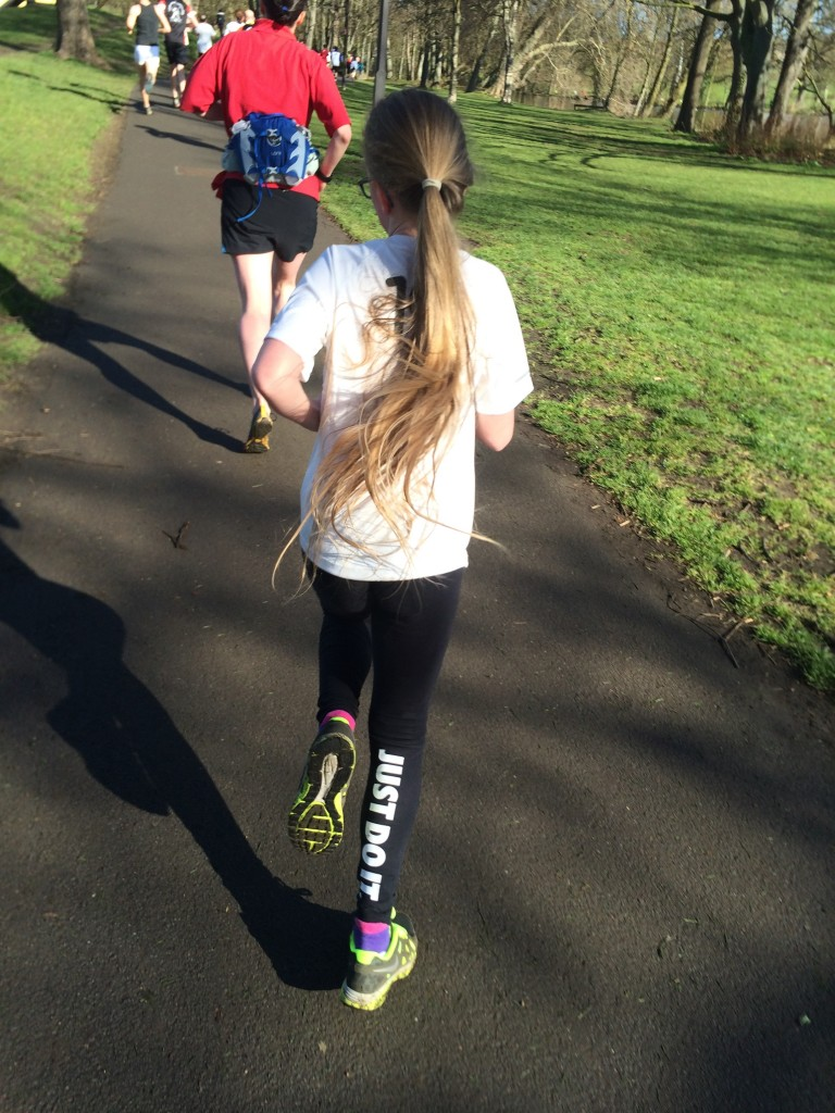 Daughter, Running, Parkrun, 365, 366