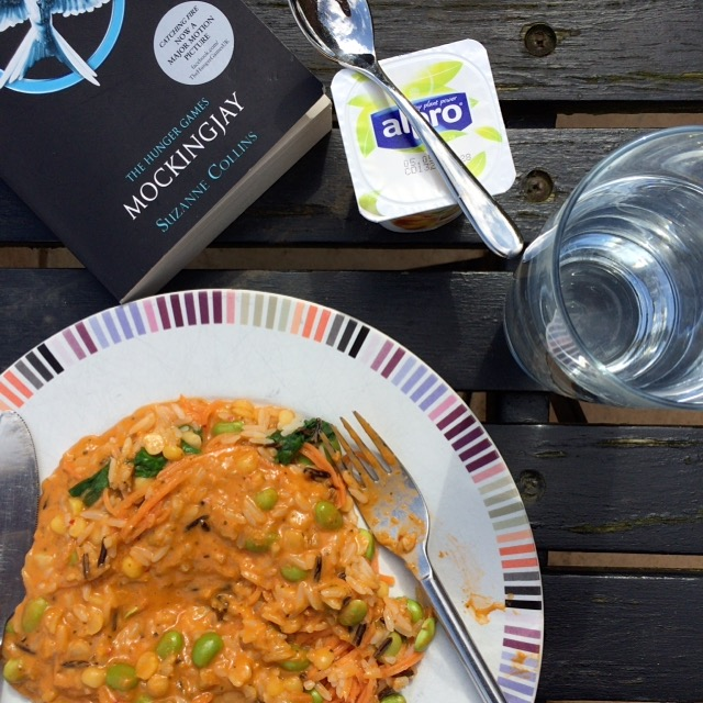 Lunch, Spring, Garden, 365, 366