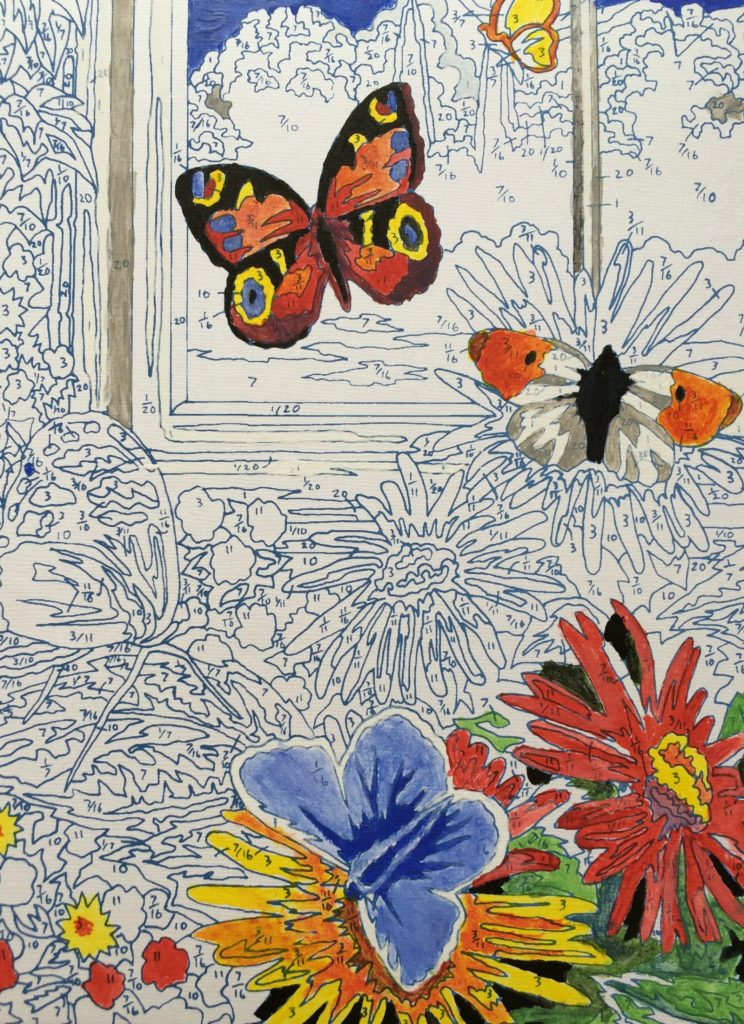 Painting, Art, Daughter, 365, 366