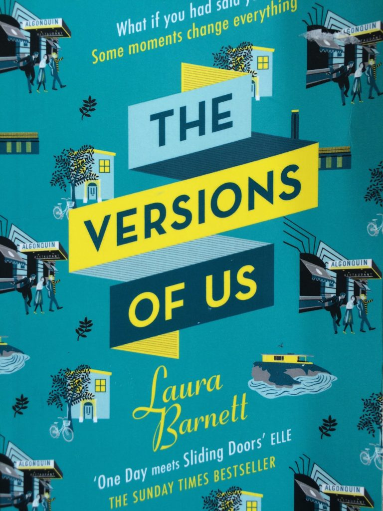Book review, The Versions of Us, Laura Barnett, The Versions of Us review