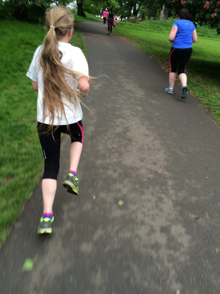 Daughter, Running, Parkrun, 365, 366