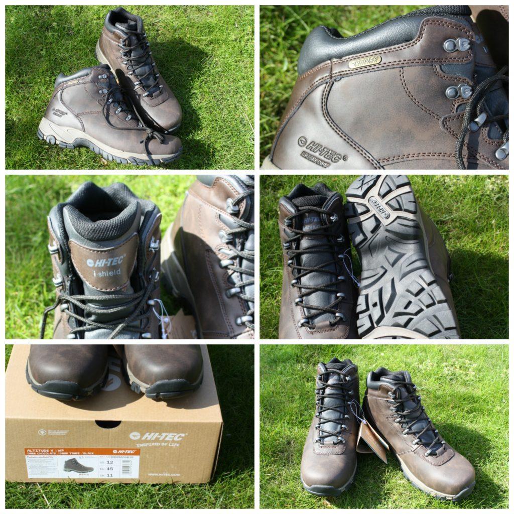 PicMonkey hitecreviewCollage, Hi-Tec Walking boots, Review, Hi-Tec review